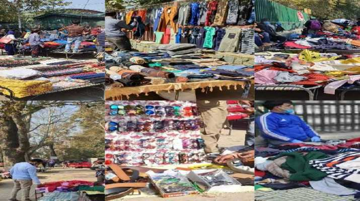 Jammu & Kashmir: With COVID SOPs in place, Sunday market reopens in Srinagar after 08 months 1