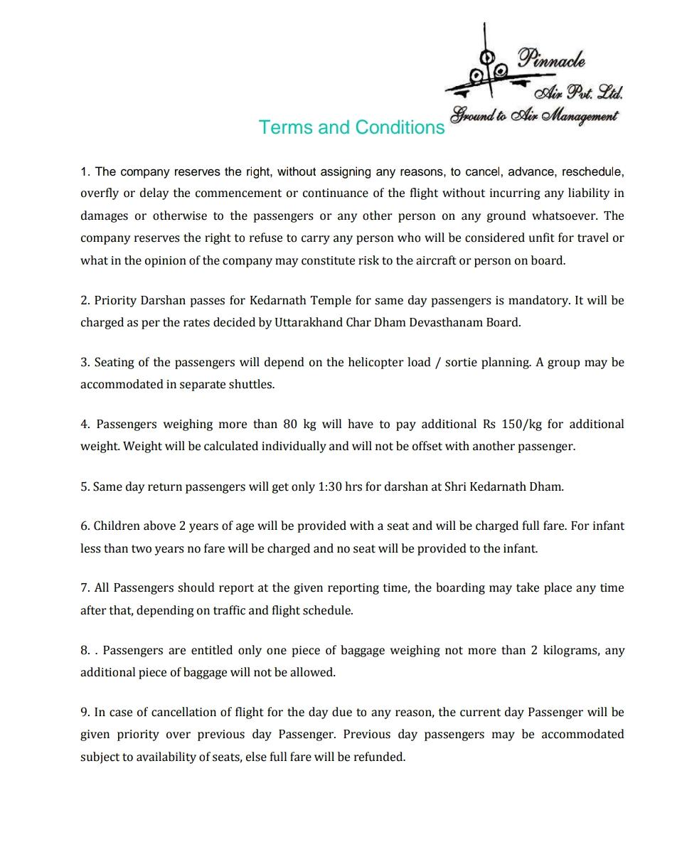 Part-II; यूकाड़ा व GMVN की नाक के नीचे केदारनाथ हैली टिकट्स में धांधली! GMVN की शर्तों के विरुद्ध हैली ऑपरेटर अपनी ही टिकट छाप कर यात्रियों को बेचकर कर रहे है जोल! सरकार के टैक्स में भी चूना! 3