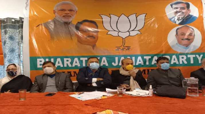 Modi government will audit all the misdoings of regional parties in J&K, Central government committed to provide justice to J&K people: Chugh 1