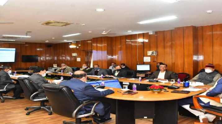मुख्यमंत्री व सिंचाई मंत्री ने की सिंचाई विभाग के अन्तर्गत नाबार्ड वित्त पोषित योजनाओं की समीक्षा, 102 करोड़ रूपये किए गए स्वीकृत 1