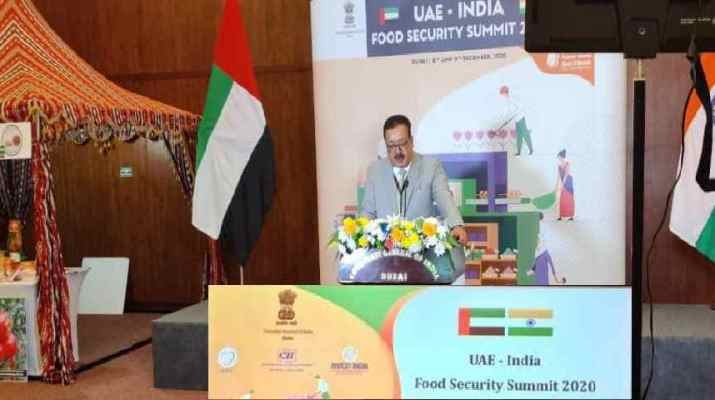 Jammu & Kashmir: Navin Choudhary leads farmers & growers delegation to UAE-India Food Security Summit 2020 1