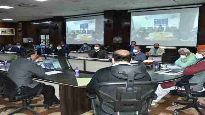 मुख्यमंत्री ने की कुम्भ मेला कार्यो की समीक्षा, अधिकारियों को दिये कार्य समय पर पूर्ण करने के निर्देश 1