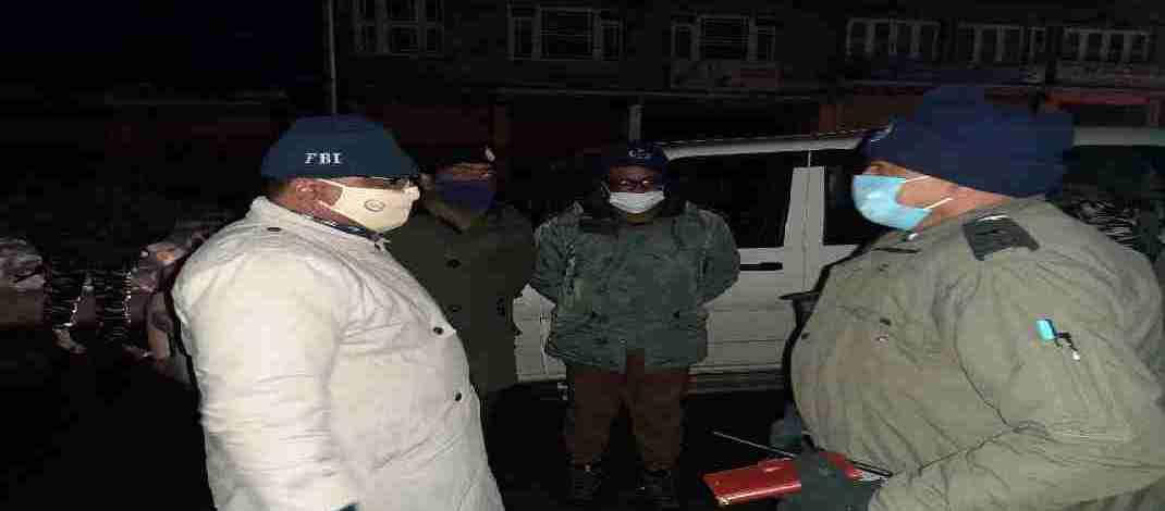 J&K: DGP visits South Kashmir, Taken review of Security Grid on National Highway