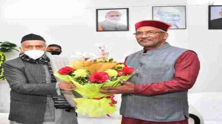 महाराष्ट्र राज्यपाल भगत सिंह कोश्यारी ने की मुख्यमंत्री त्रिवेन्द्र सिंह रावत से भेंट, की जनपद चमोली के रैणी क्षेत्र में उत्पन्न आपदा की स्थिति पर चर्चा 1