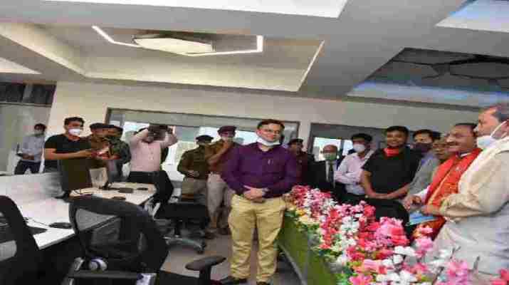 हरिद्वार: मुख्यमंत्री तीरथ सिंह रावत ने 12023.50 लाख रूपये के 36 कार्यो का किया लोकार्पण 1