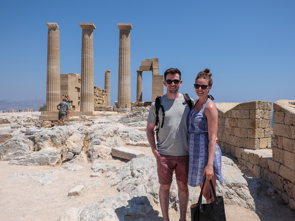 Visiting the acropolis of Lindos | Hello Victoria