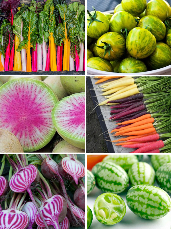Rainbow and unusual vegetable ideas | Hello Victoria
