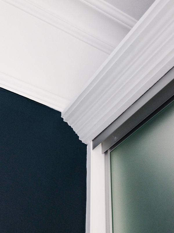 Adding molding to built in closet | Hello Victoria