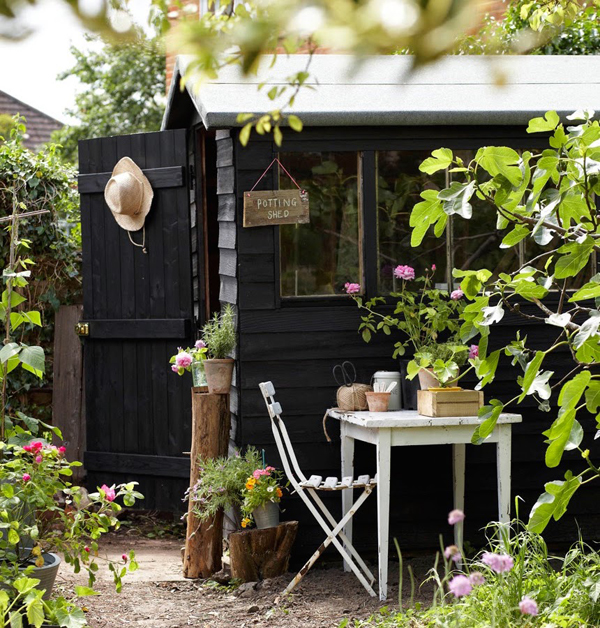 Black shed inspiration | Hello Victoria