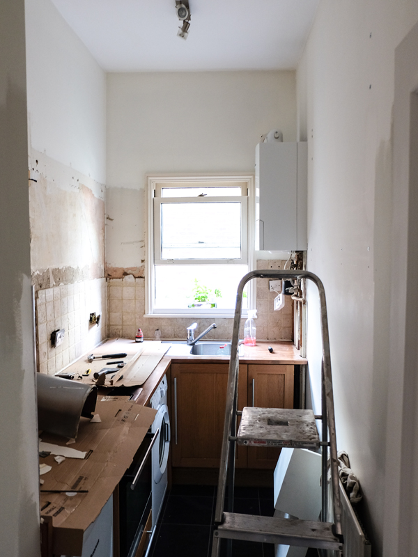 Demolishing our tiny kitchen | Hello Victoria