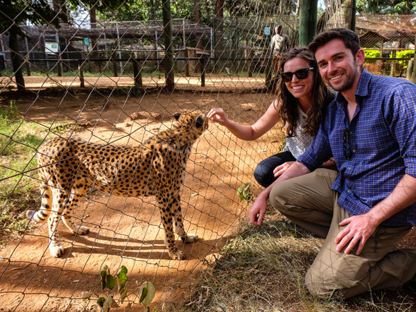 Visiting the Nairobi Animal Orphanage | Hello Victoria