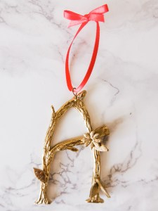 DIY Anthropologie ornaments | Hello Victoria
