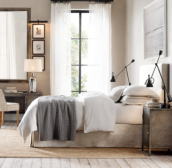Upholstered bed frame inspiration | Hello Victoria