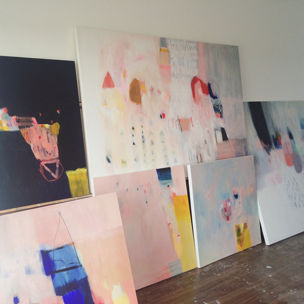 Abstract paintings by Lola Donoghue | Hello Victoria
