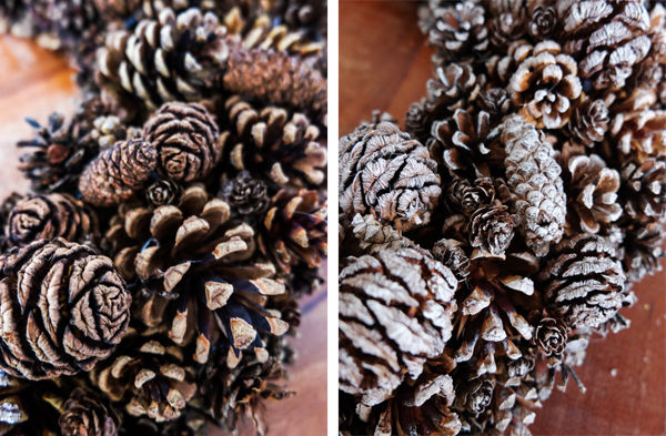 DIY pine cone wreath | Hello Victoria