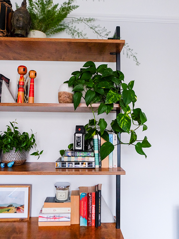 Custom industrial bookshelf | Hello Victoria