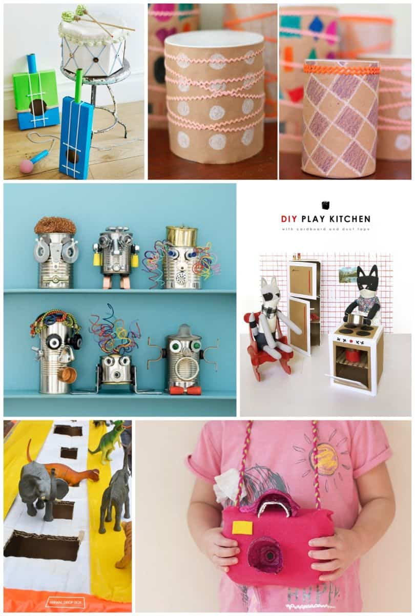 Hello Wonderful 30 BEST RECYCLED TOY CRAFTS FOR KIDS