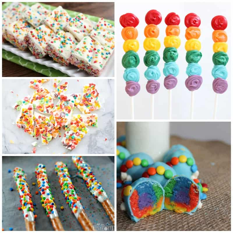 20 MAGICAL RAINBOW TREATS AND SNACKS FOR KIDS
