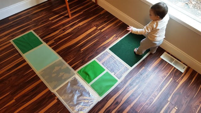 play kitchen for toddler small square table hello, wonderful - 12 creative sensory walk activities ...