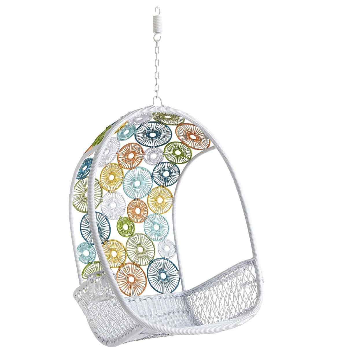 pier 1 circle chair dining room vinyl covers hello wonderful 10 awesome hanging chairs for kids