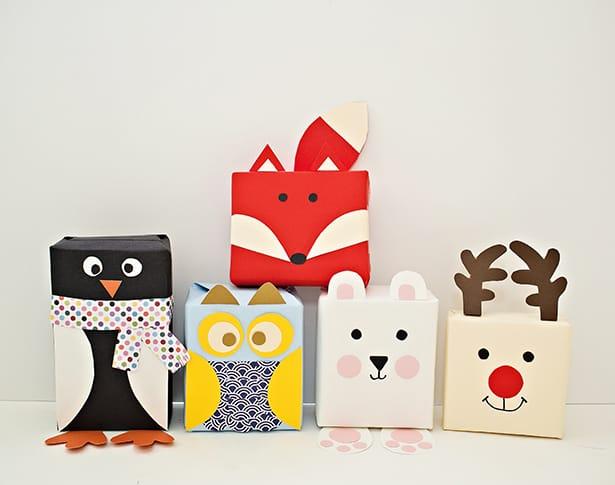 diy holiday animal gift
