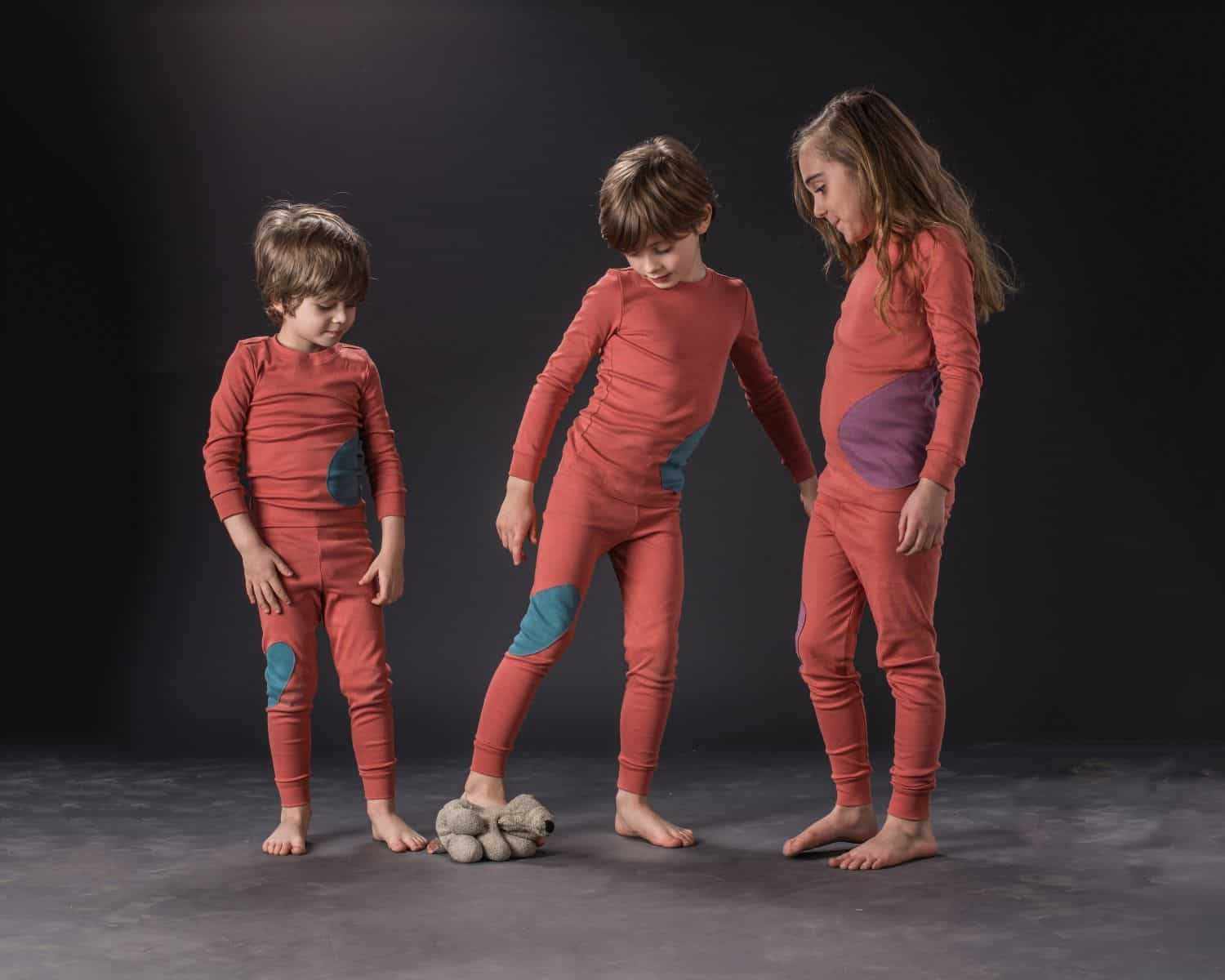 LITTLE TWIG AND SPARROW STYLISH COTTON PAJAMAS