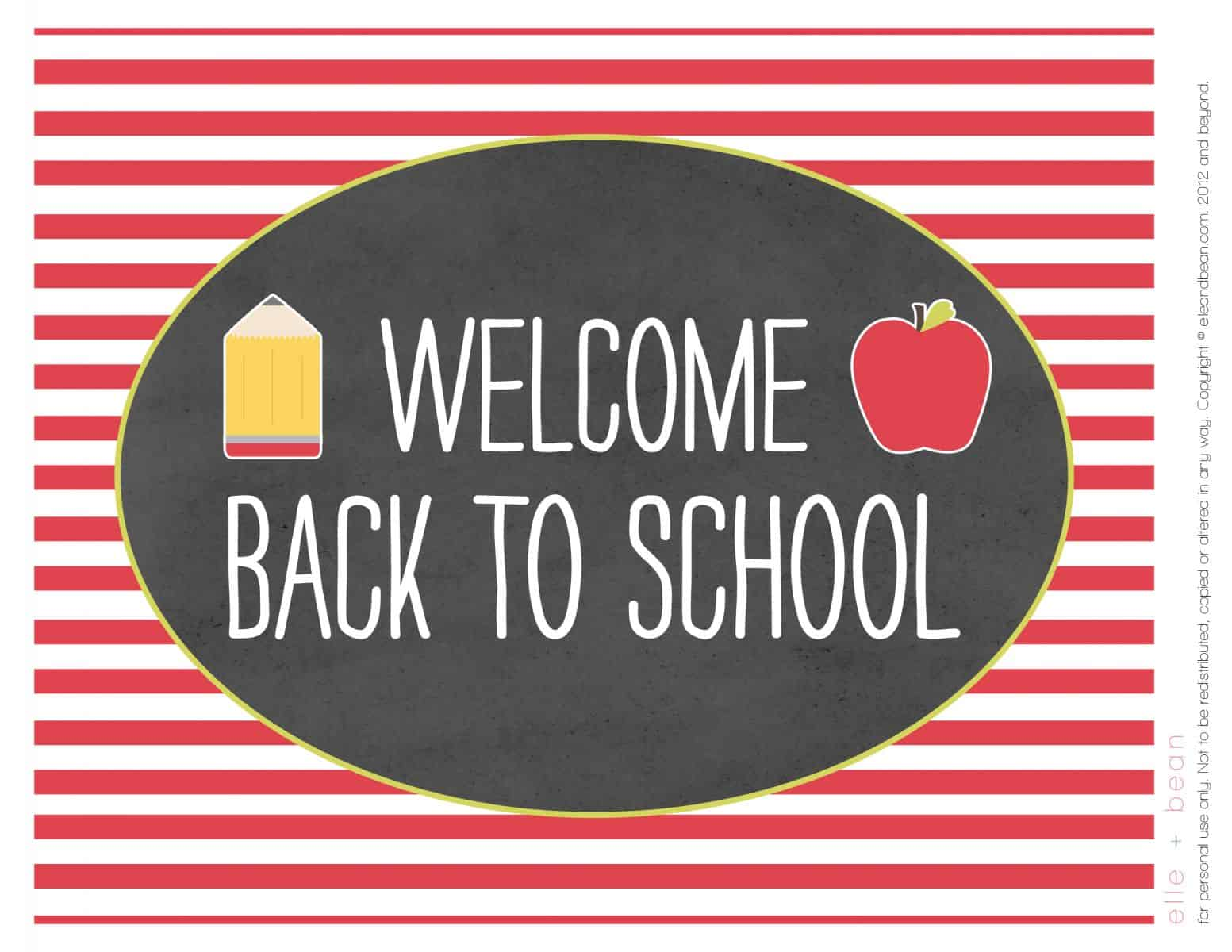 12 Neat Back To School Free Printables