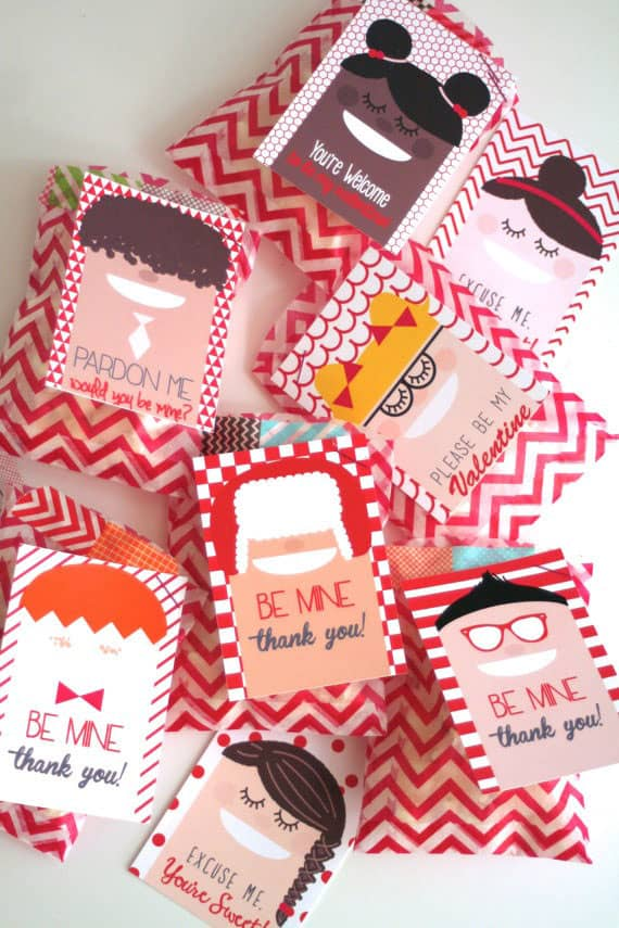 10 NON CANDY VALENTINES DAY FAVORS
