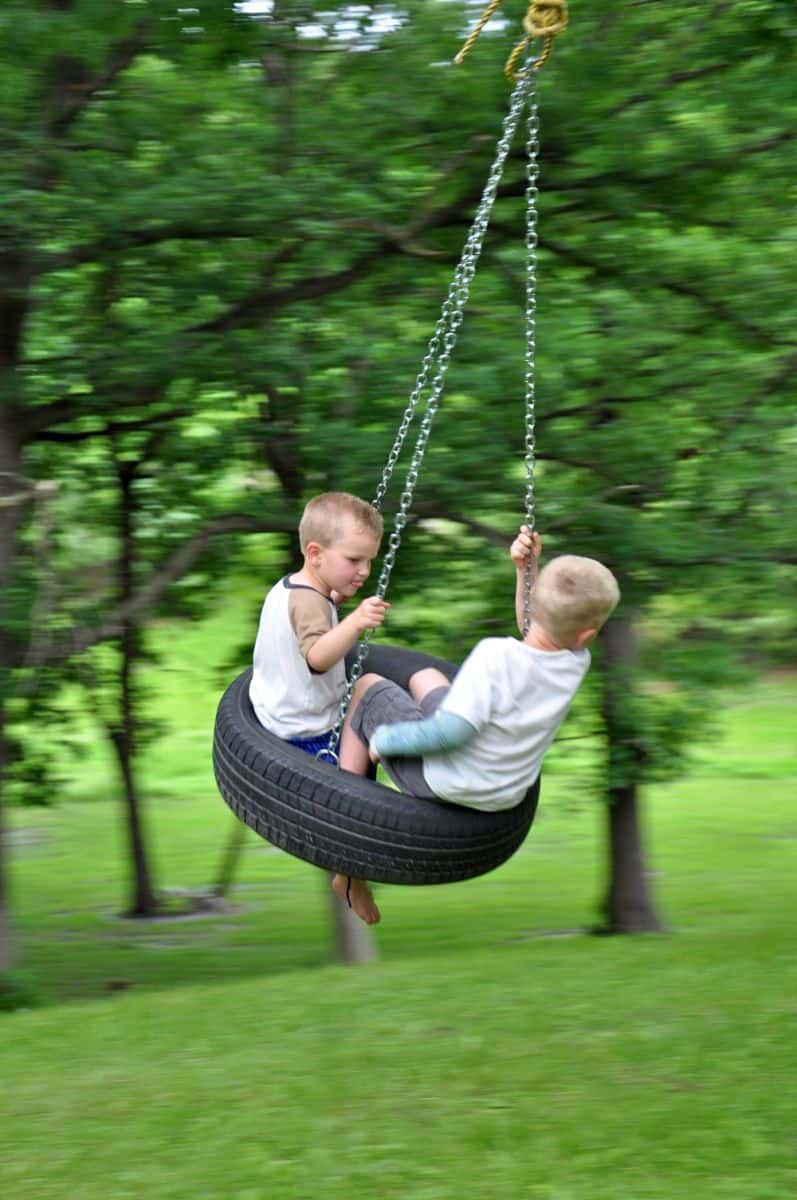 8 INVENTIVE WAYS TO MAKE A SWING