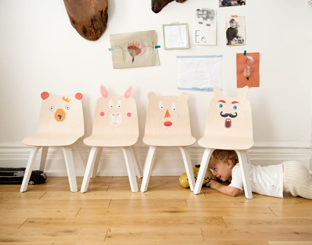toddler table and chair set kartell ghost playful animal chairs tables for kids from oeuf