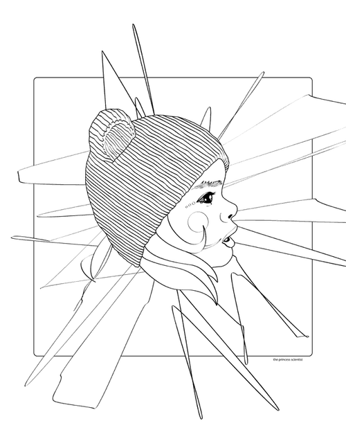 ARTISTS' COLORING BOOK FOR GIANT IMAGINATIONS