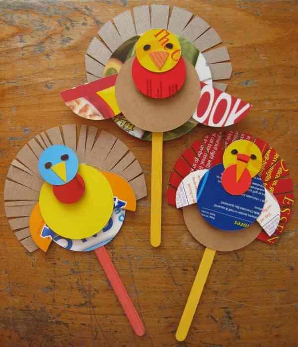 Wonderful - 15 Terrific Kids' Thanksgiving Crafts