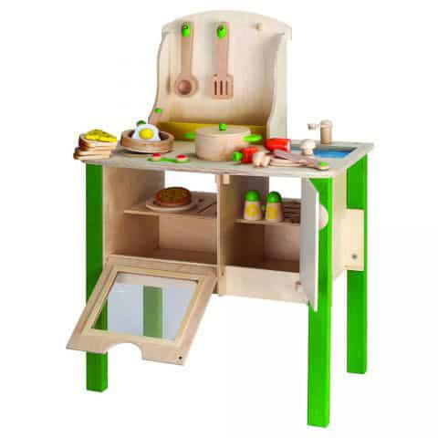 wooden toy kitchens valances for kitchen windows 5 playful these play are timelss additions to your kids space and durable enough withstand hours of endless
