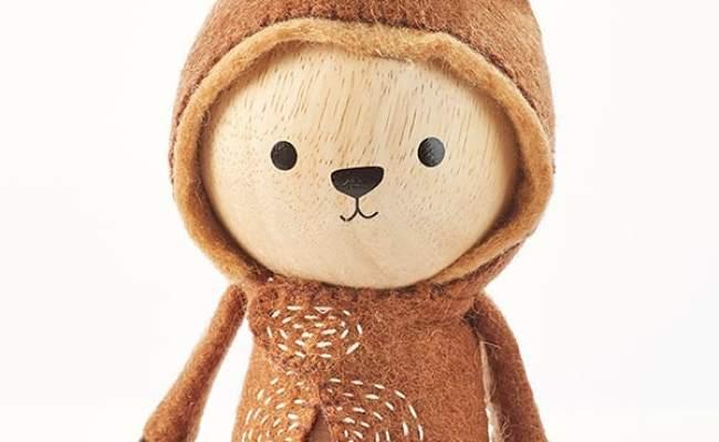 Beautiful Zoo Modern Wooden Animal Dolls Shop