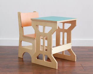 playful wooden kids furniture from