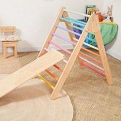 Kitchen Bookshelf Remodel Atlanta Interactive Handmade Wooden Climbing Toys - Hello Wonderful
