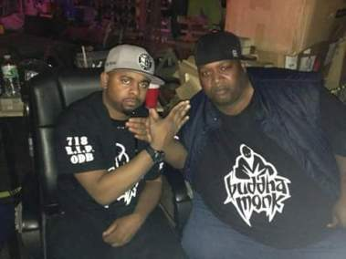 Hell Razah and Buddha Monk