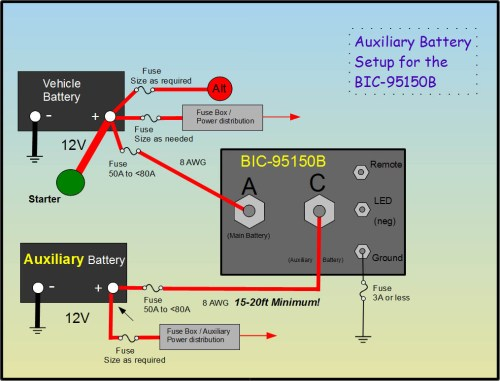 small resolution of truck camper auxiliary battery isolation diagram basic auxiliary diagram