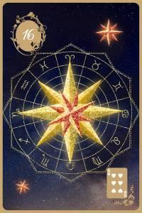 Lenormandkarten der goldenen Zeit die Sterne