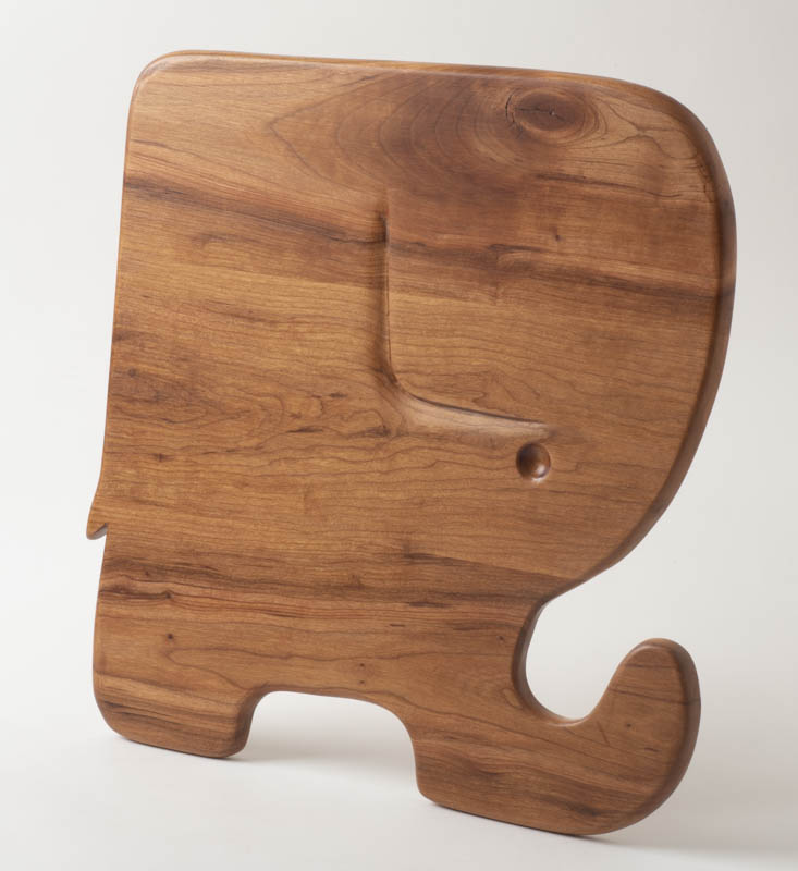 Elephant Charcuterie board, in cherry