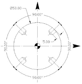 Fanuc G87 Radial / Side Drilling Cycle Programming Example
