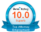 Rated 10 Superb Top Attorney Employment Law.