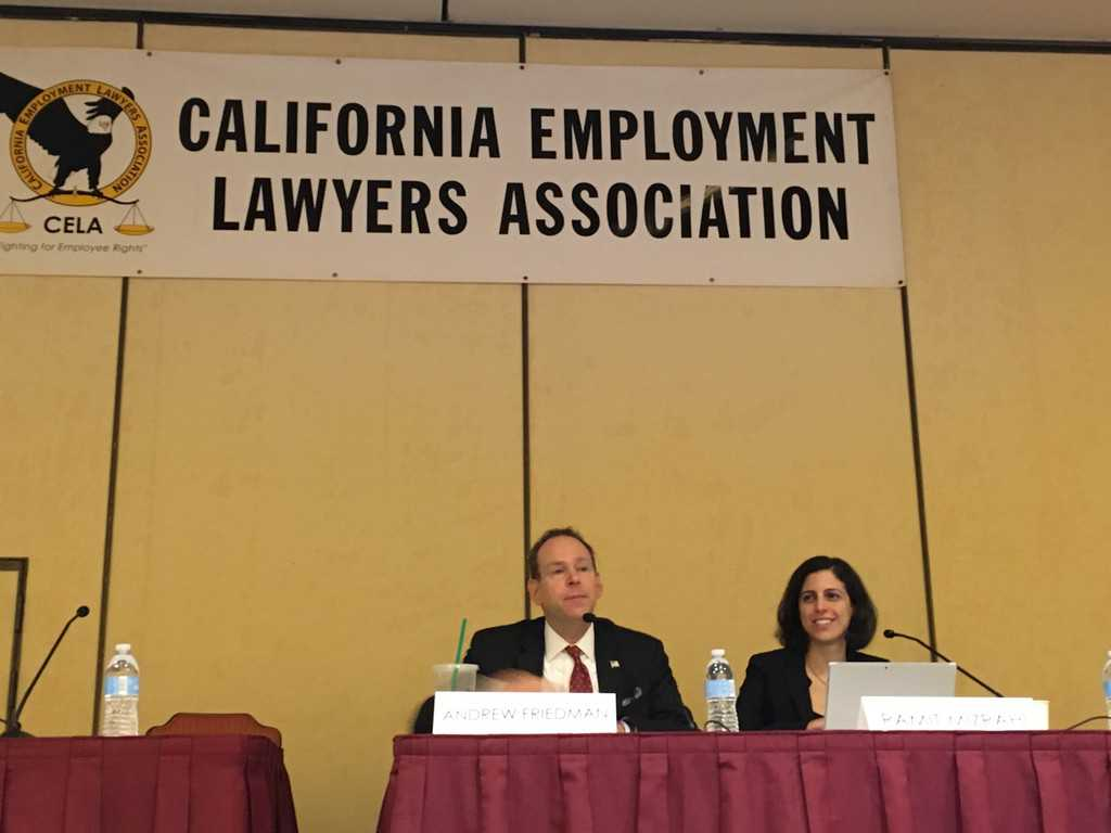 California Employment Law Assoc. Annual Conference