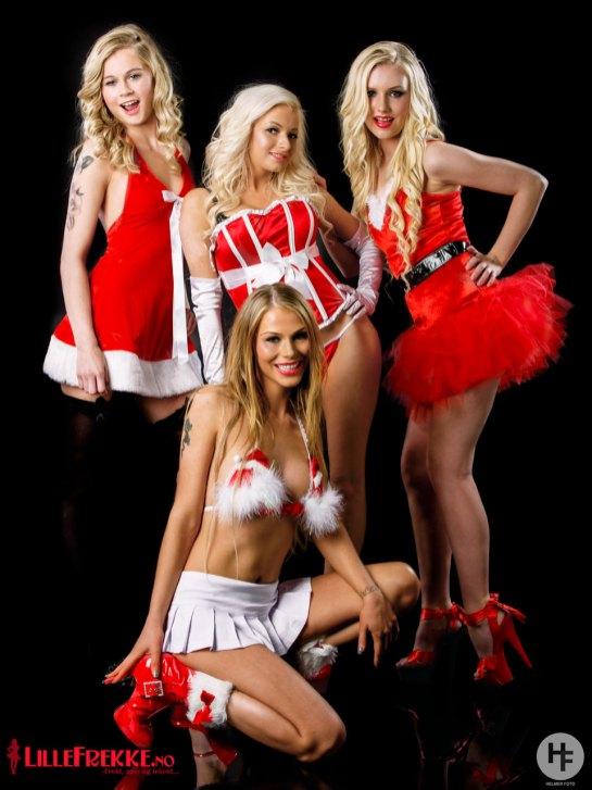 Lillefrekke Christmas calendar shoot