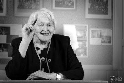 My grandmother, 95