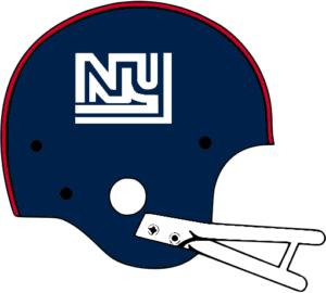New York Giants Helmet 1975.