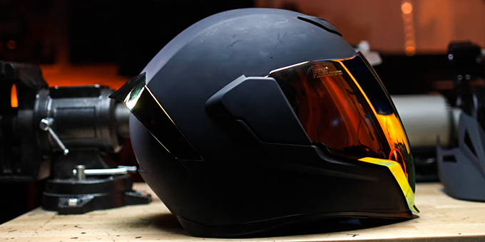 Motorcycle Helmet with Goggles Review