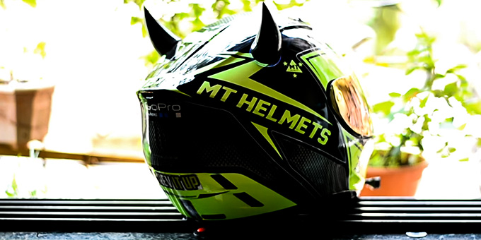 Motorcycle Helmet with Horns Review