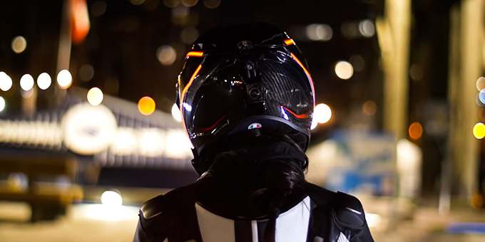Motorcycle Helmet with Light Review