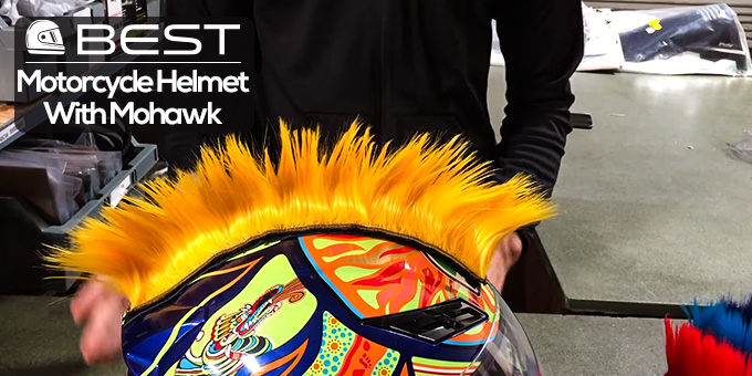 Best Motorcycle Helmet Mohawks